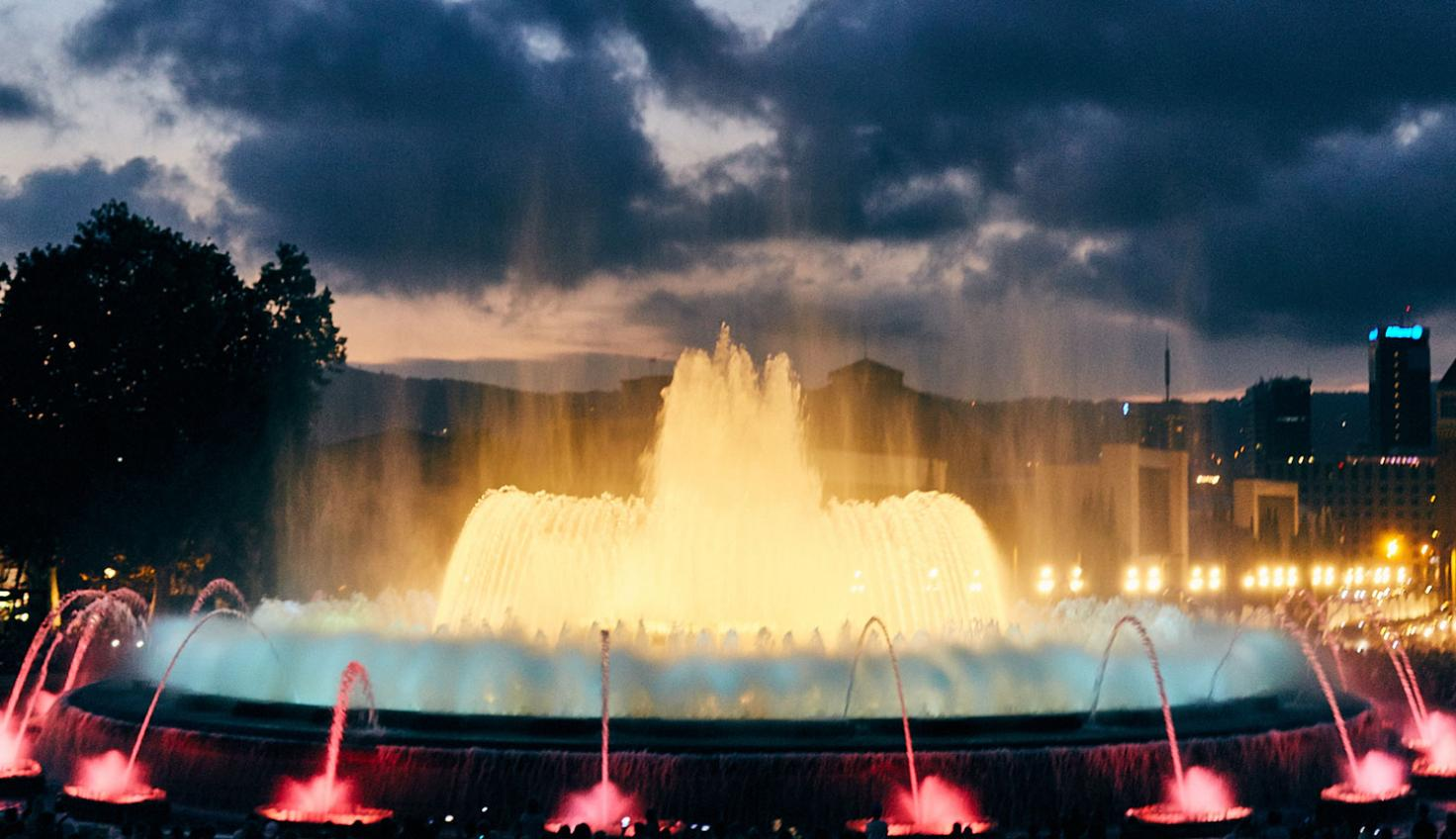 Photo Magic Fountain of Montjuïc Barcelona