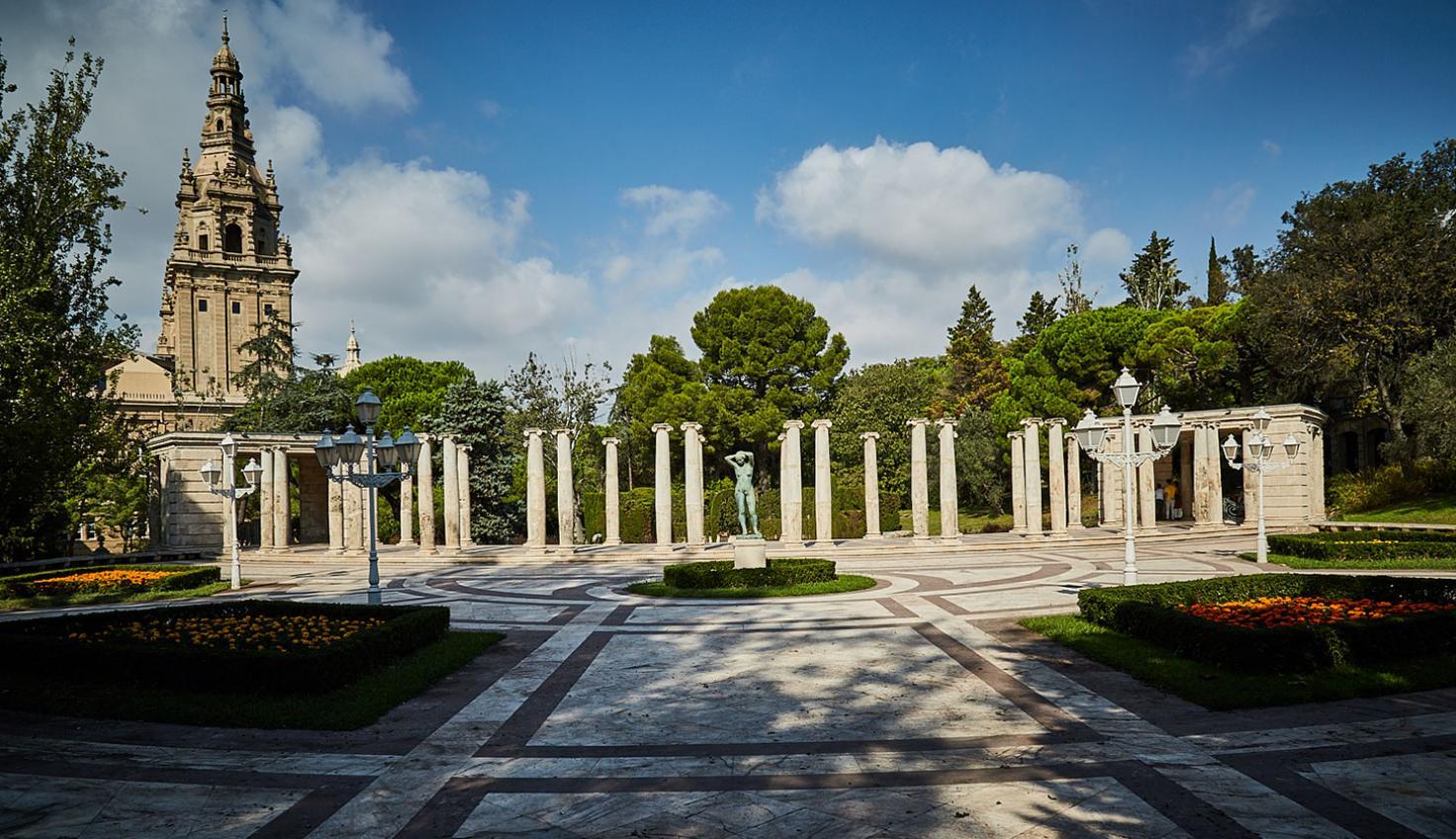 Gärten Joan Maragall Barcelona fotografie
