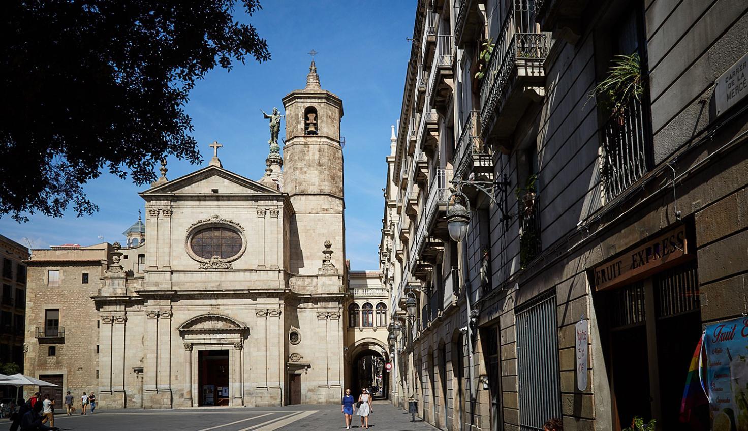 Foto Basilica della Mercè di Barcellona