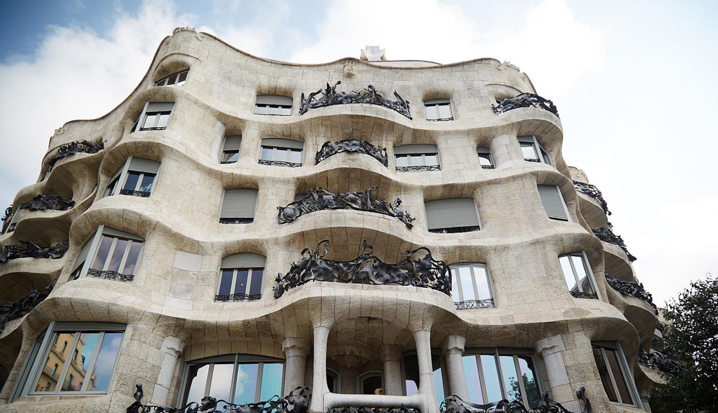 La Pedrera Gaudí fotografie