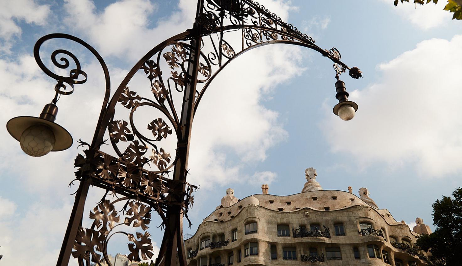 Foto Gaudí La Pedrera