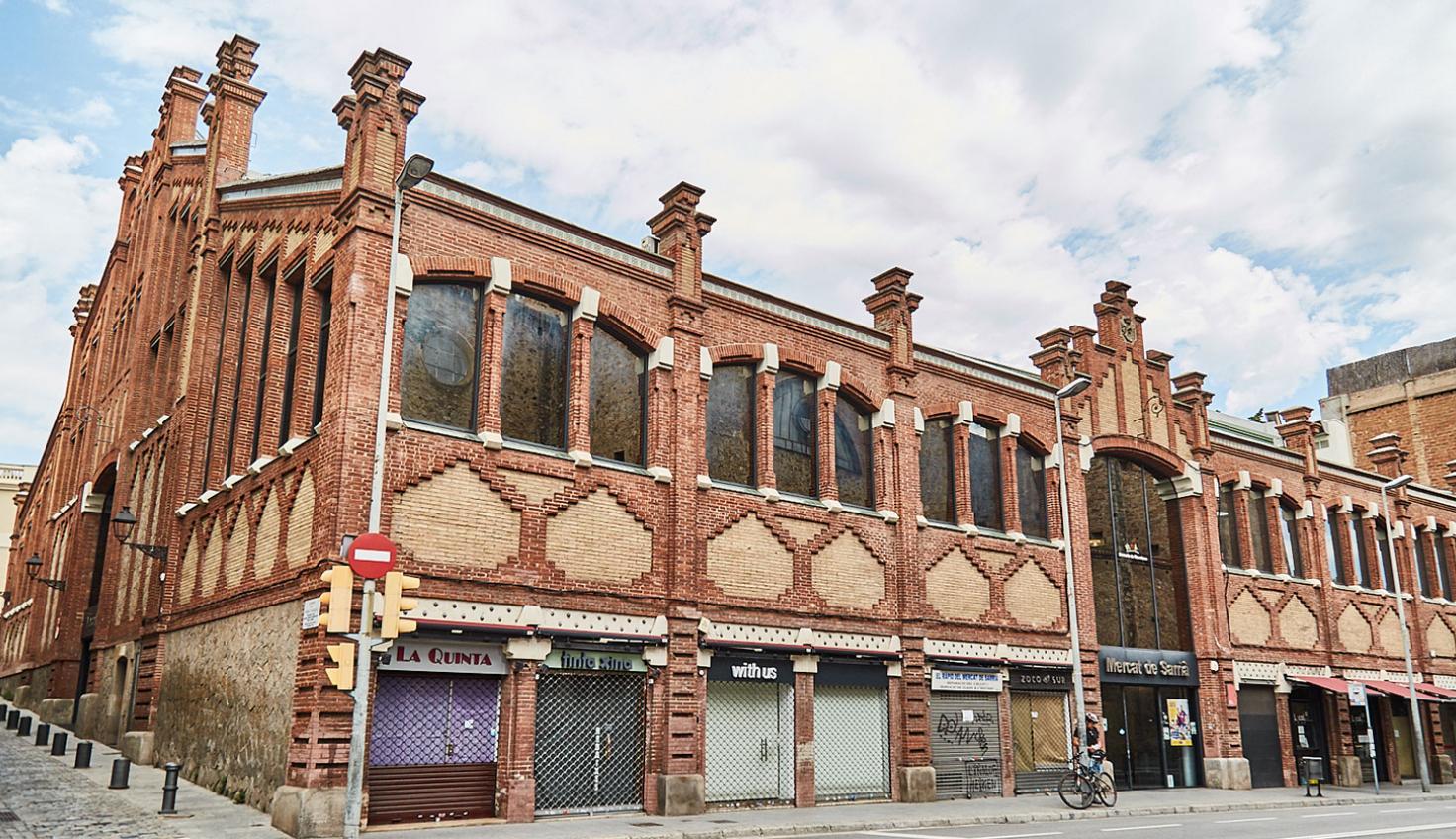Markthalle Sarrià - Marcel·lí Coquillat fotografie