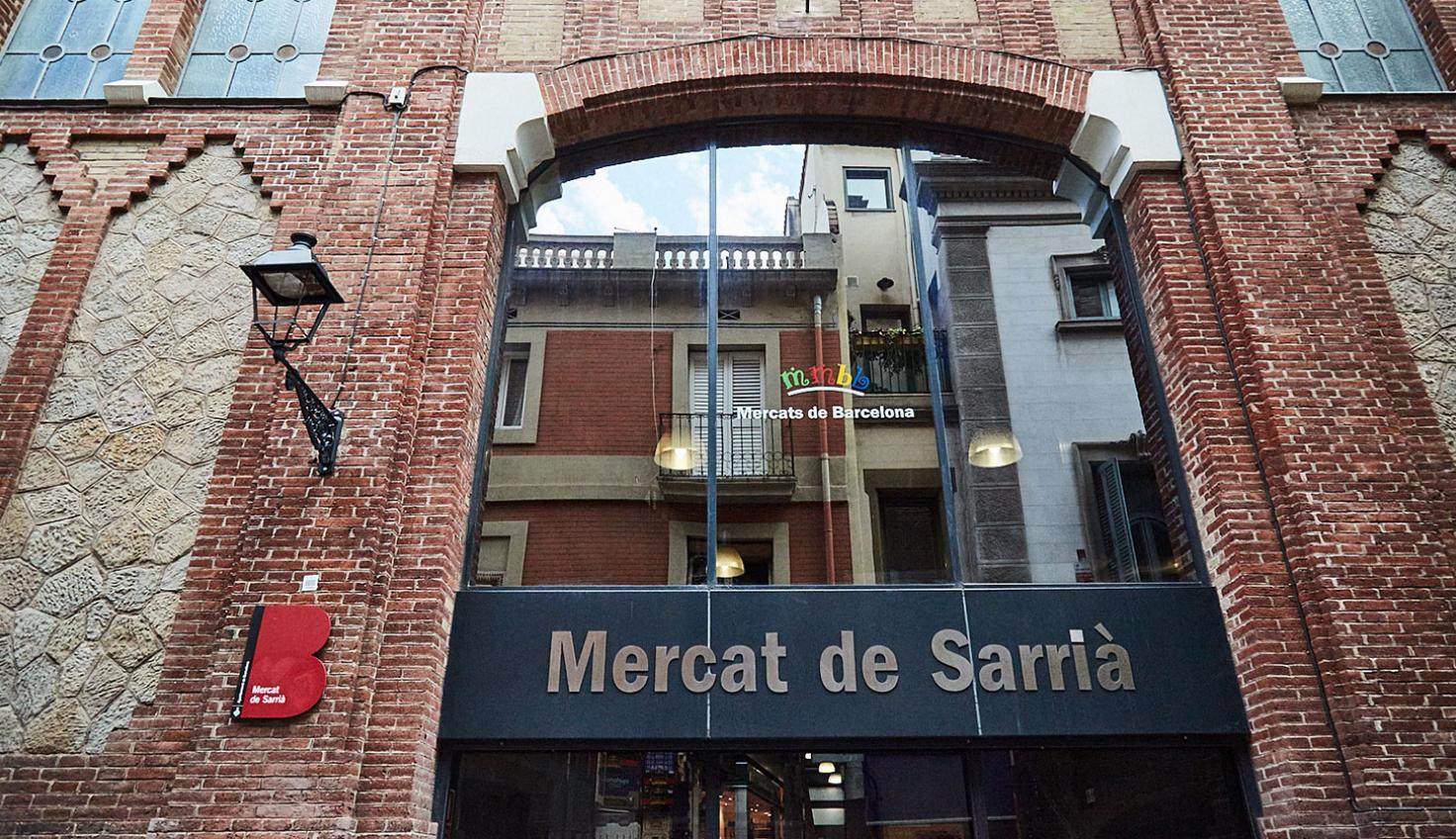Markthalle Sarrià fotografie