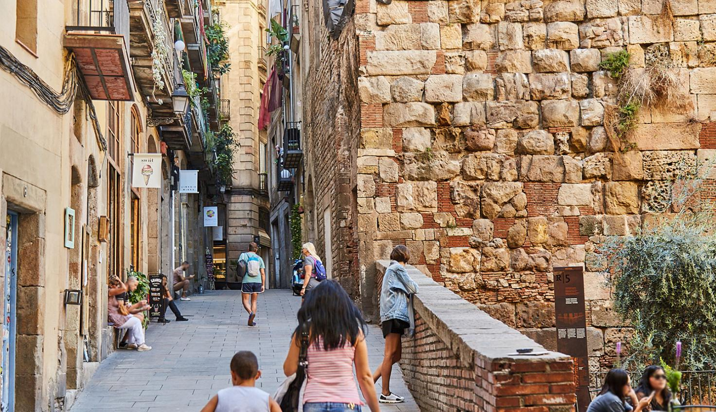 Photo Roman Wall of Barcelona