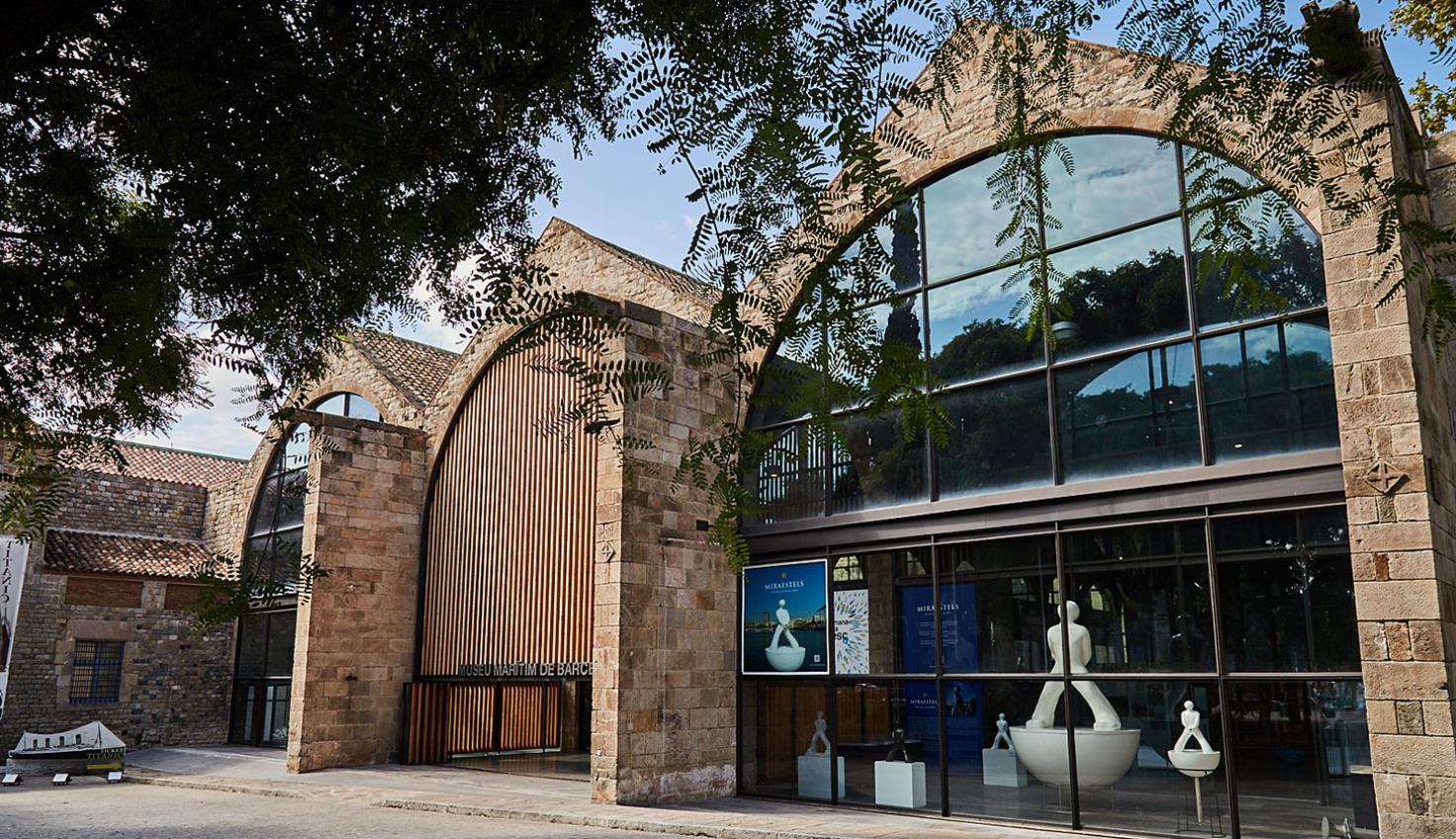Foto Schifffahrtsmuseum Barcelona – Königliche Werft Les Drassanes