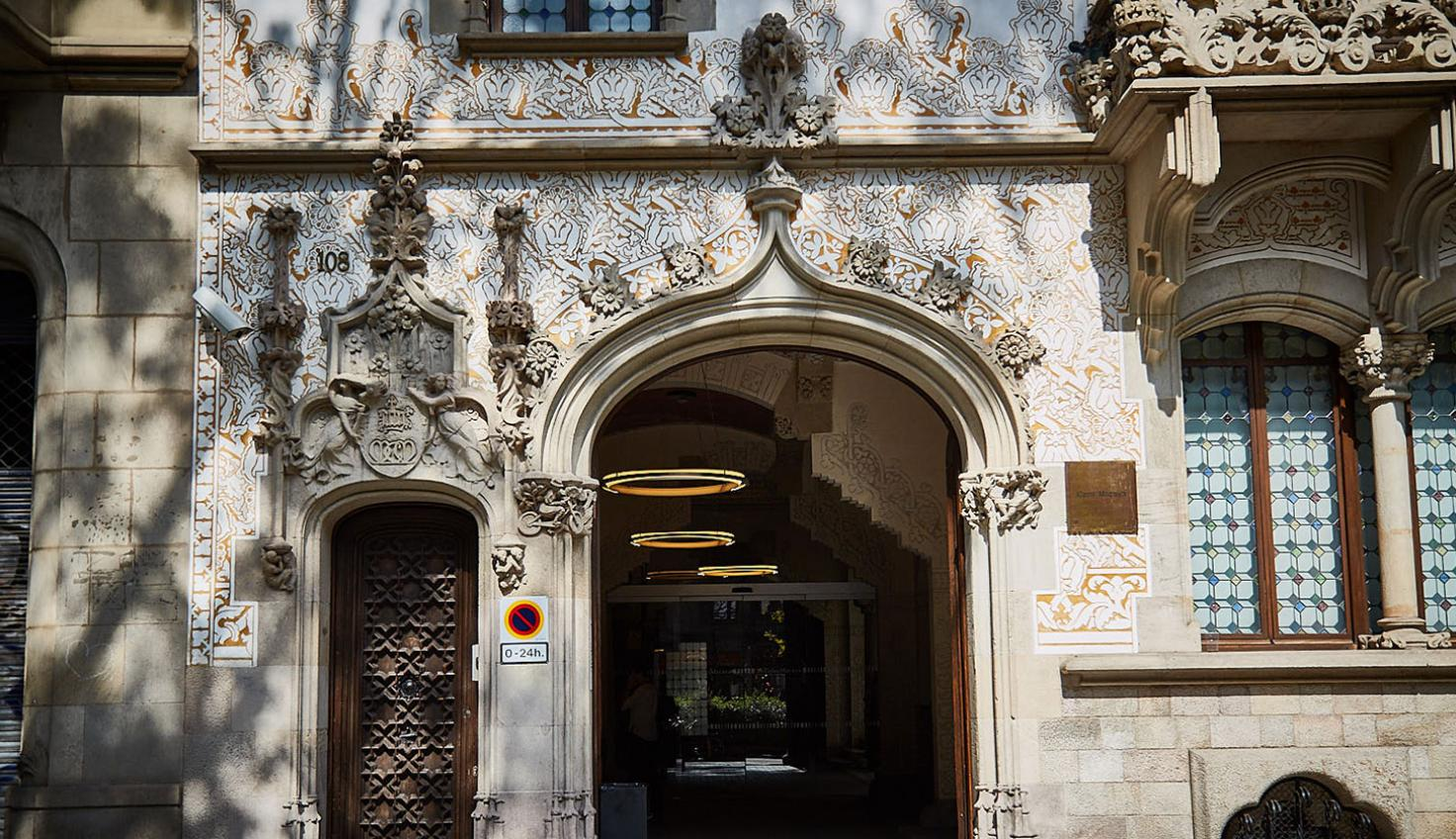 Palau Macaya Barcelona fotografie