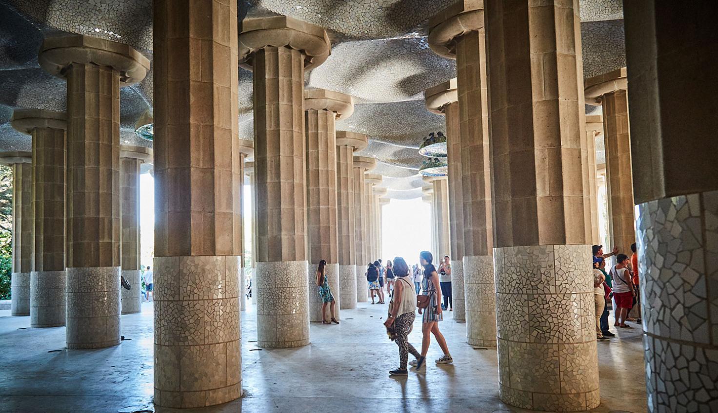 Park Güell - Modernisme Gaudí fotografie