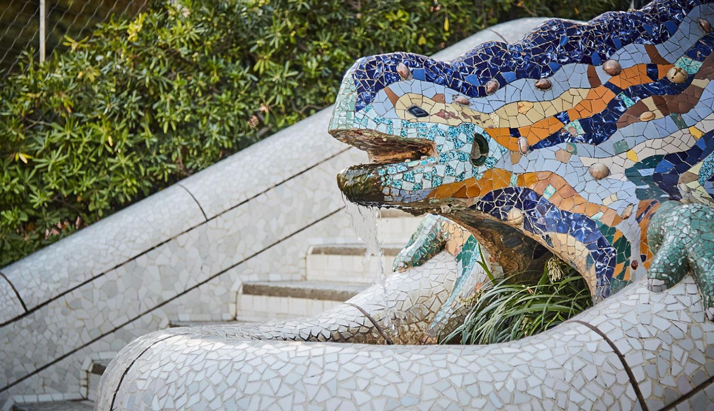 Foto Gaudí Park Güell