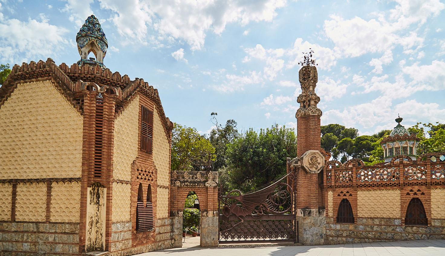 Foto Pavellons Güell - Gaudí