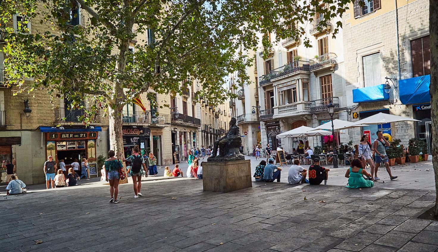 Photo Plaça de Sant Josep Oriol