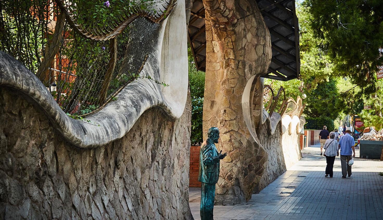 Foto Porta de la Finca Miralles