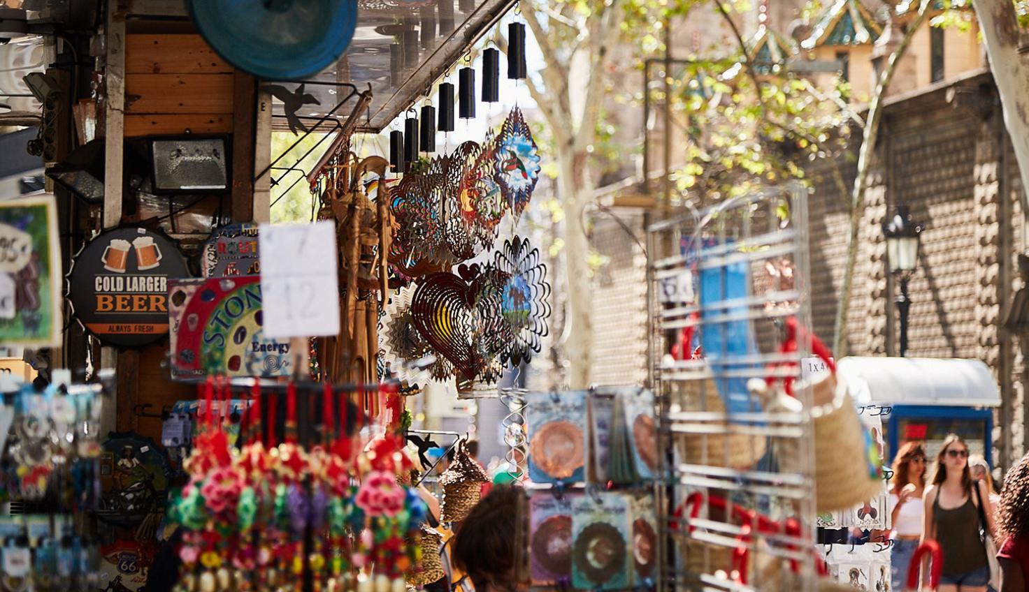 Les Rambles - Barcelona fotografie