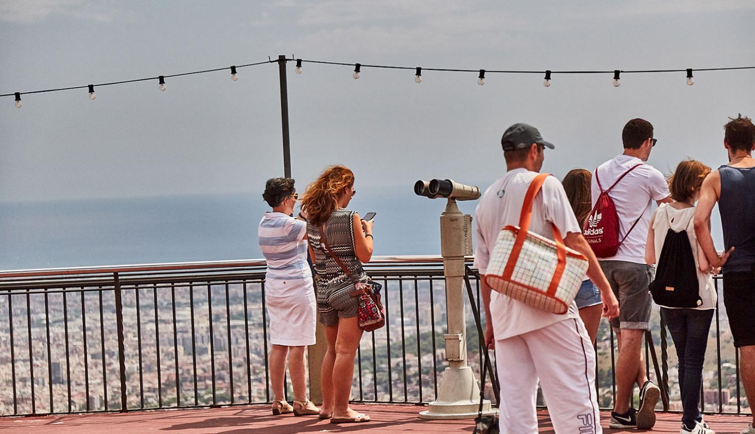 Foto el Tibidabo
