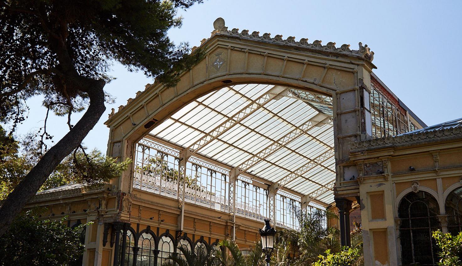 Photo Ciutadella Park Glasshouse