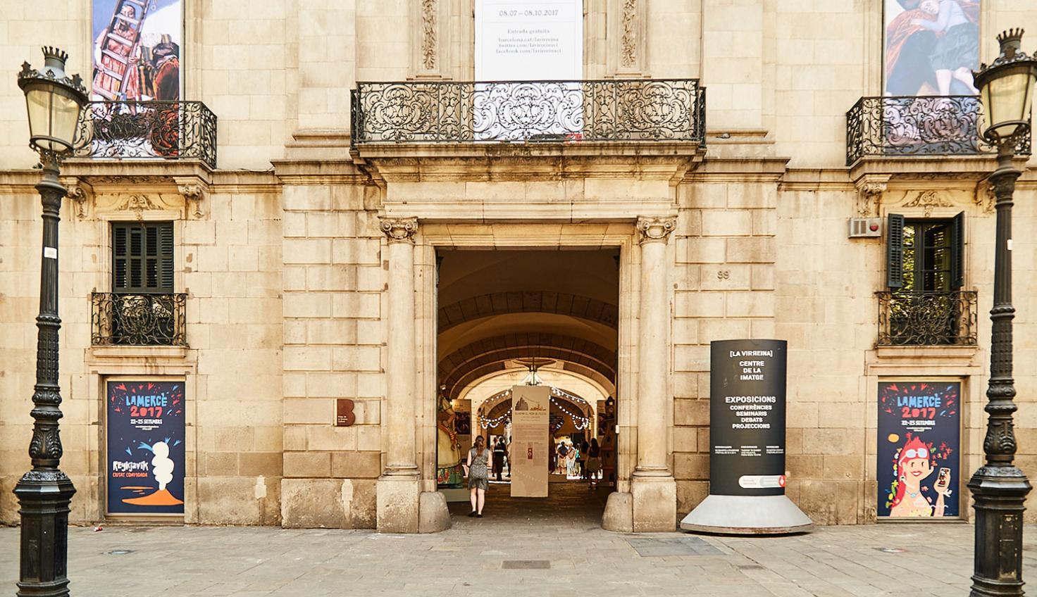 Palau de la Virreina fotografie