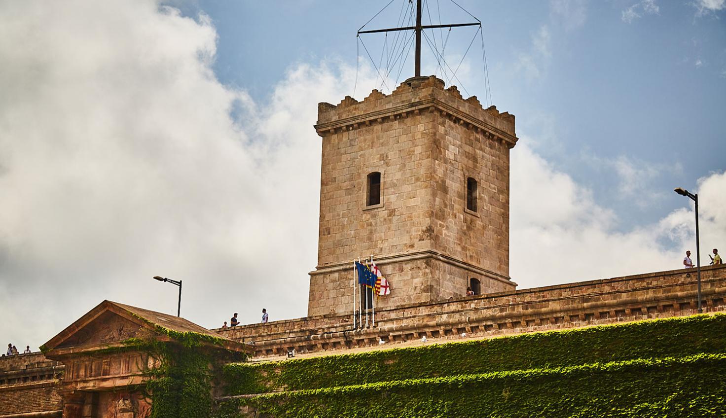 Burg Montjuïc fotografie