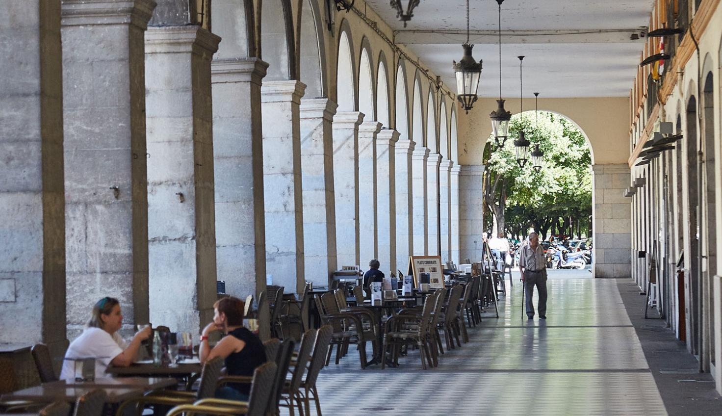 Photo Girona streets
