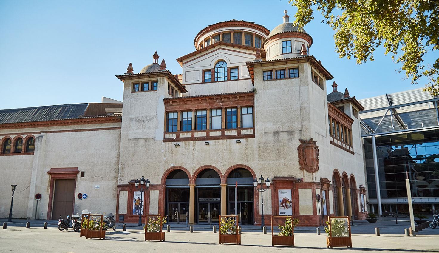 El Mercat de les Flors Barcelona fotografie