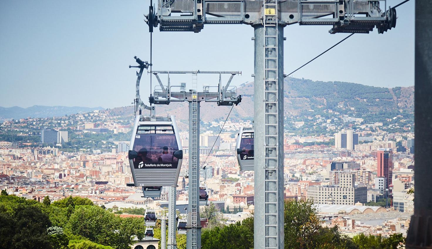 Foto Teleferica di Montjuïc