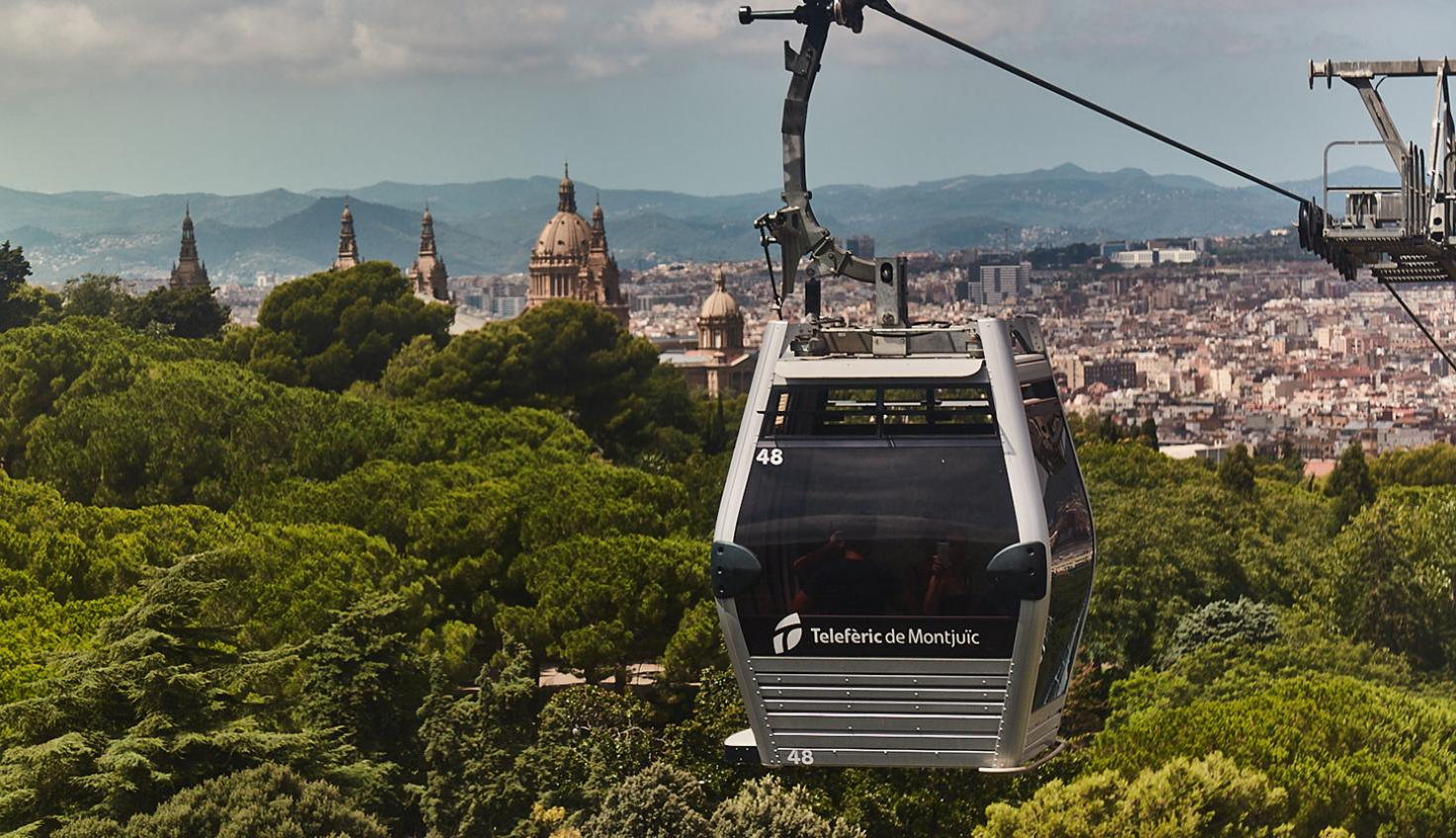 Photo Montjuïc Cable Car Barcelona