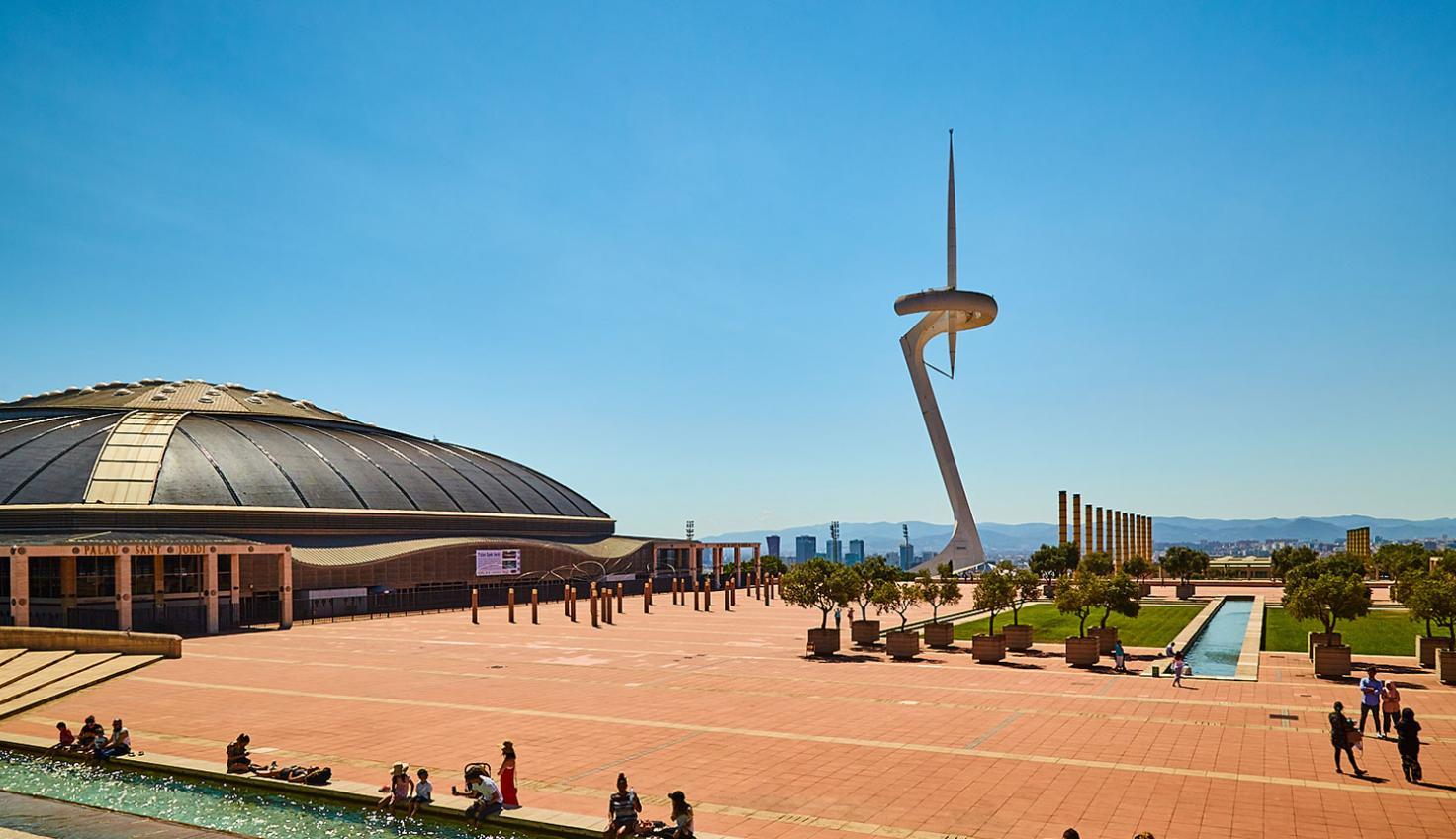 Calatrava Barcelona fotografie