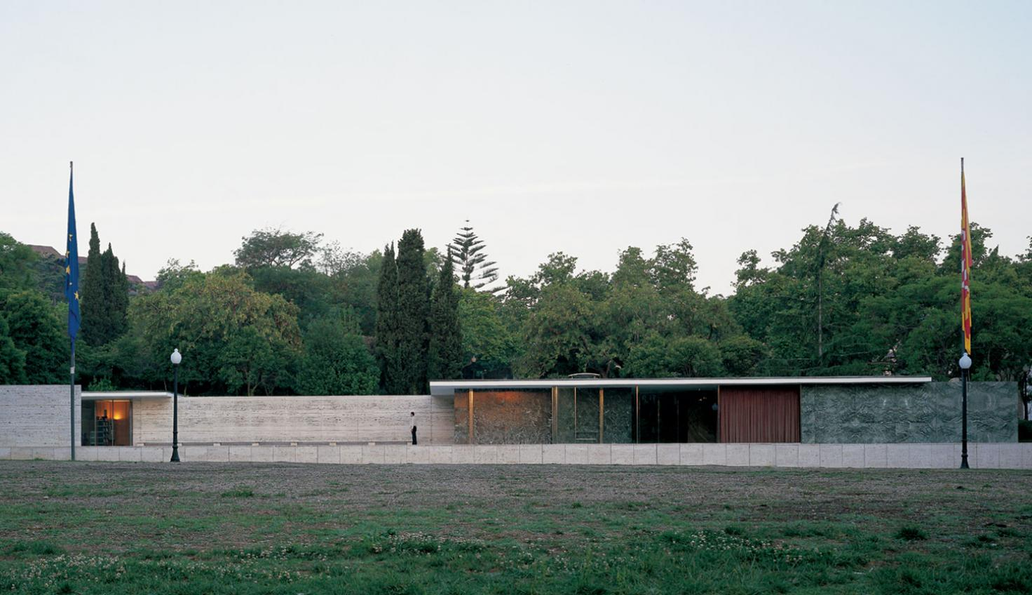 Photo Mies van der Rohe Pavilion