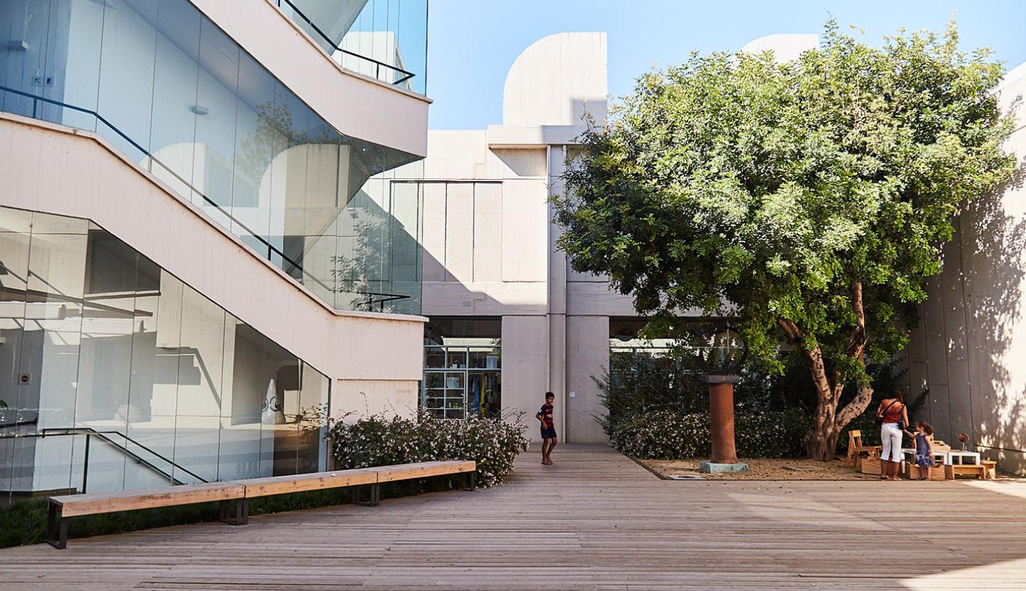 Édifice conçu par Josep Lluís Sert