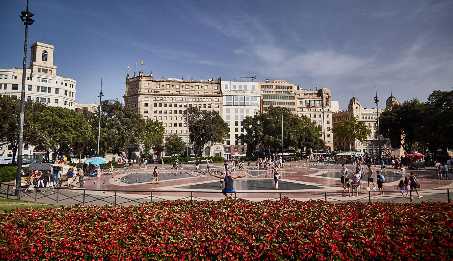 Nexus of the Old Town and the Eixample district