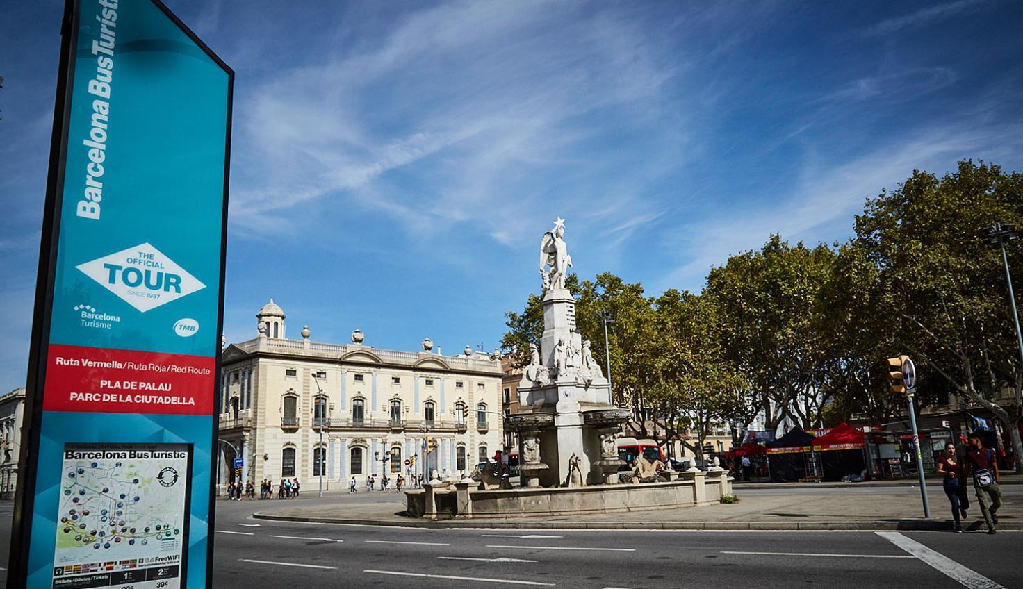 Eingangstor zum mittelalterlichen Barcelona