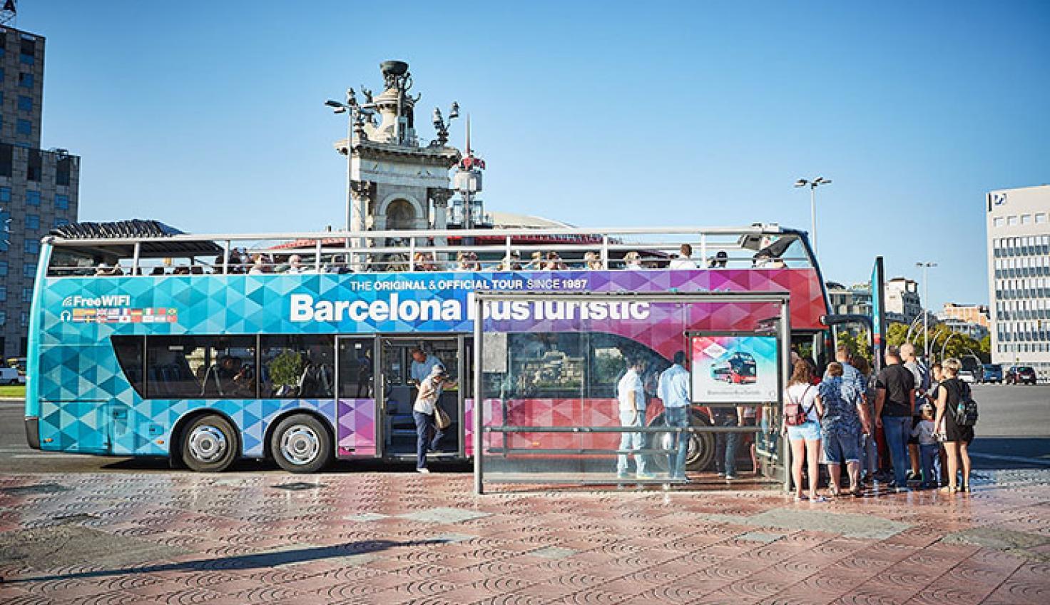 Plaça d'Espanya stop