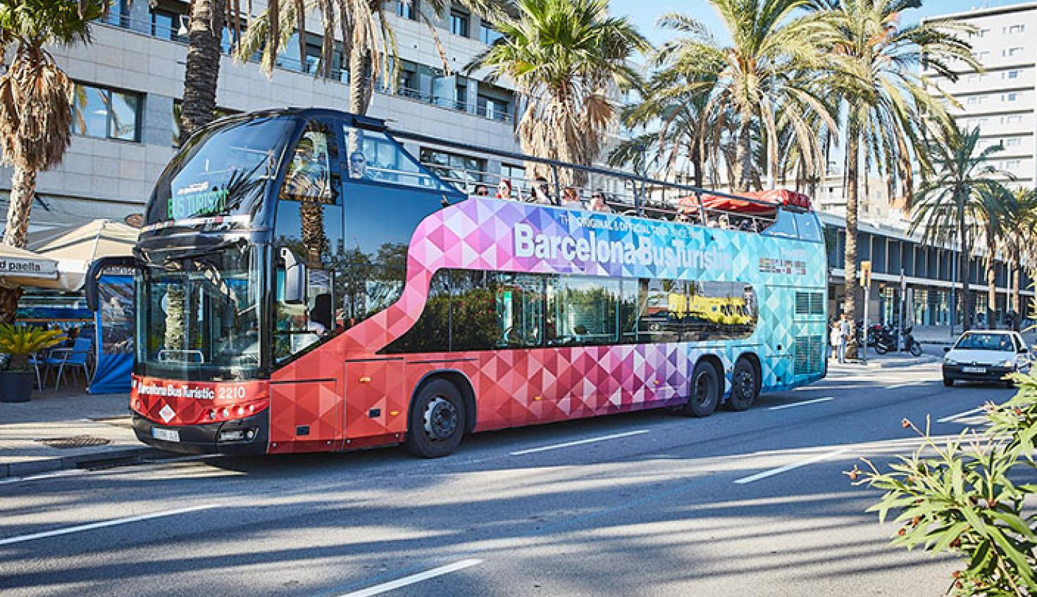The Green Route of Barcelona Bus Turístic