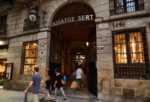 Photo Passatge de Sert - Sant Pere