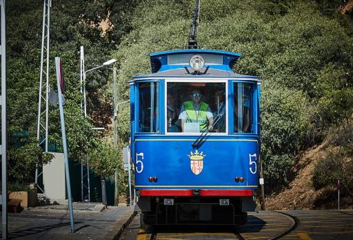 Photo of the Tramvia Blau