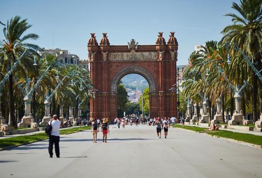Photo Arc de triomphe - Parc de la Ciutadella