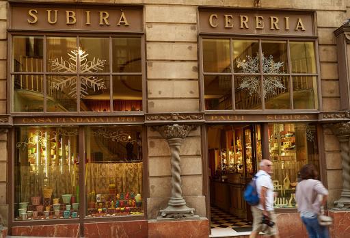 Cereria Subirà Barcelona fotografie