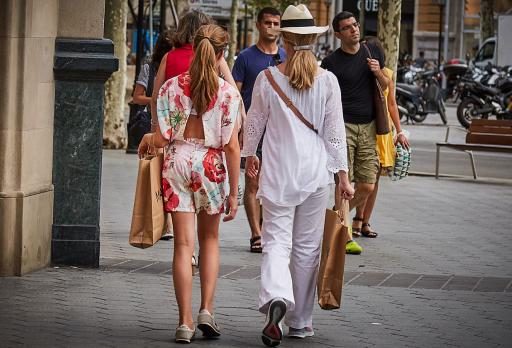 Shopping Passeig de Gràcia fotografie