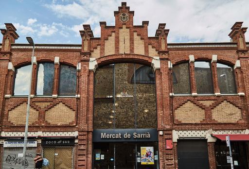 Photo Sarrià Market - Arnau Calvet