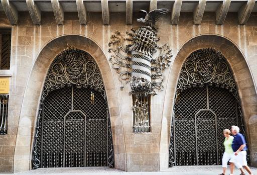 Foto Palazzo Güell Gaudí - Barcelona