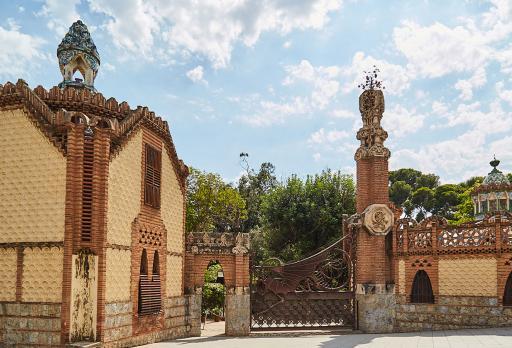 Photo Pavellons Güell - Gaudí