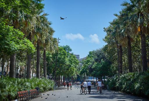 Photo El Raval District Barcelona