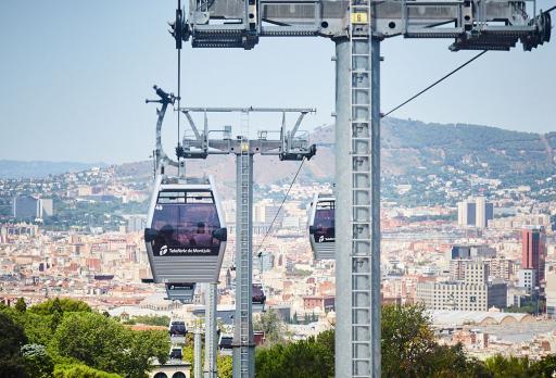 Photo Telefèric de Montjuïc Barcelona