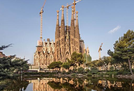 Foto Gaudí Sagrada Família