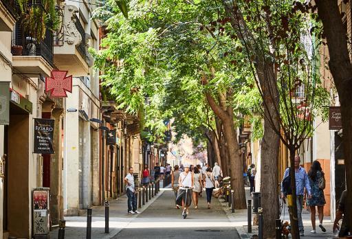 Foto Quartiere Gràcia - Negozi