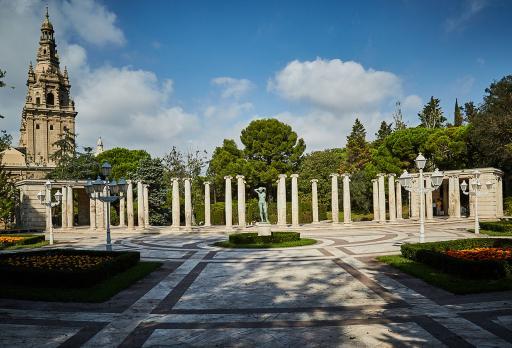 Photo Joan Maragall Gardens Barcelona