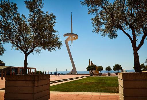 Foto Torre de Calatrava Montjuïc