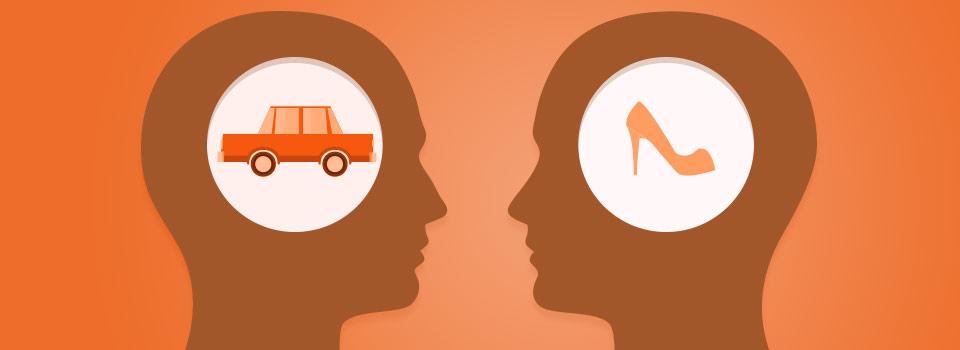 Man vs vrouw auto