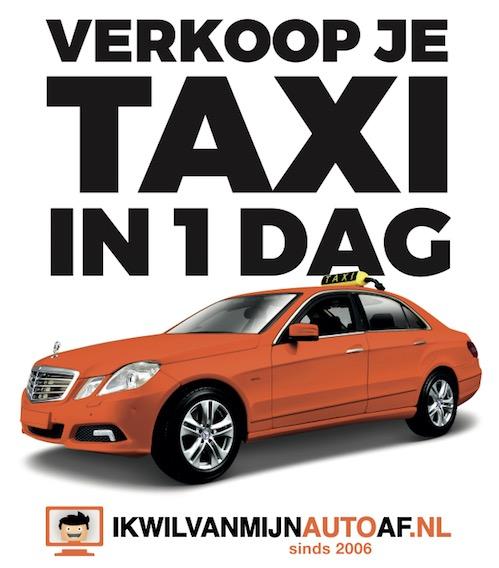 Taxi verkopen ikwilvanmijnautoaf.nl