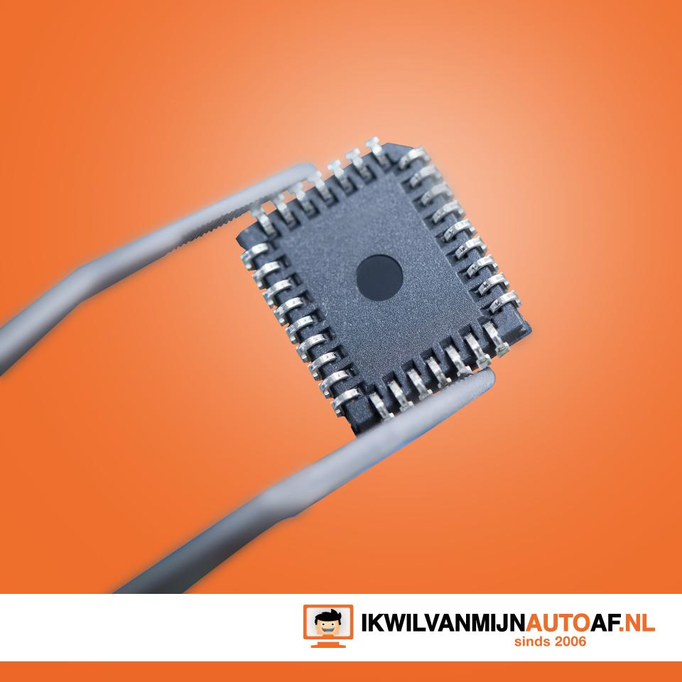 Autosleutels bevatten een chip