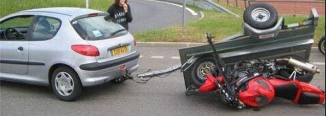 Vervoer je motor op een aanhanger