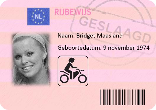 Bridget Maasland motor